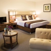 foothills conference centre deluxe room