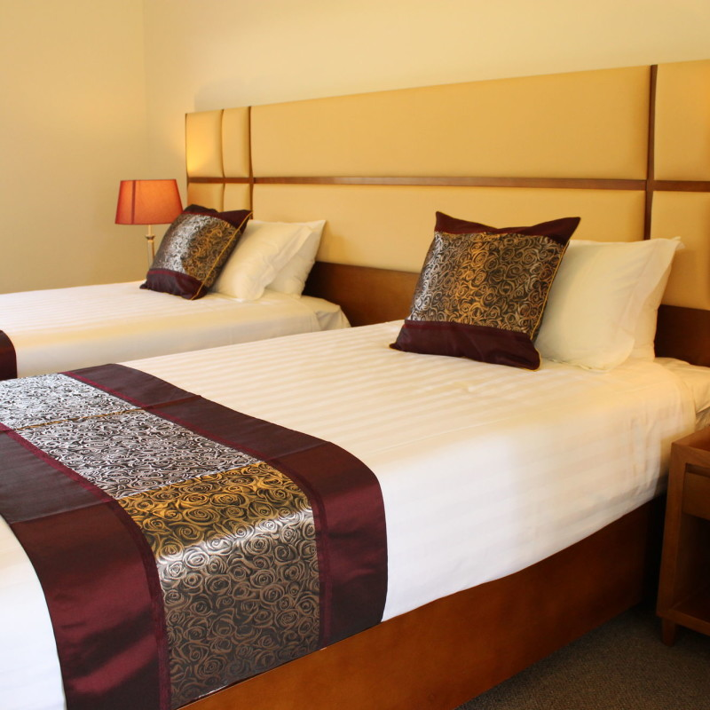 foothills conference centre deluxe twin bed