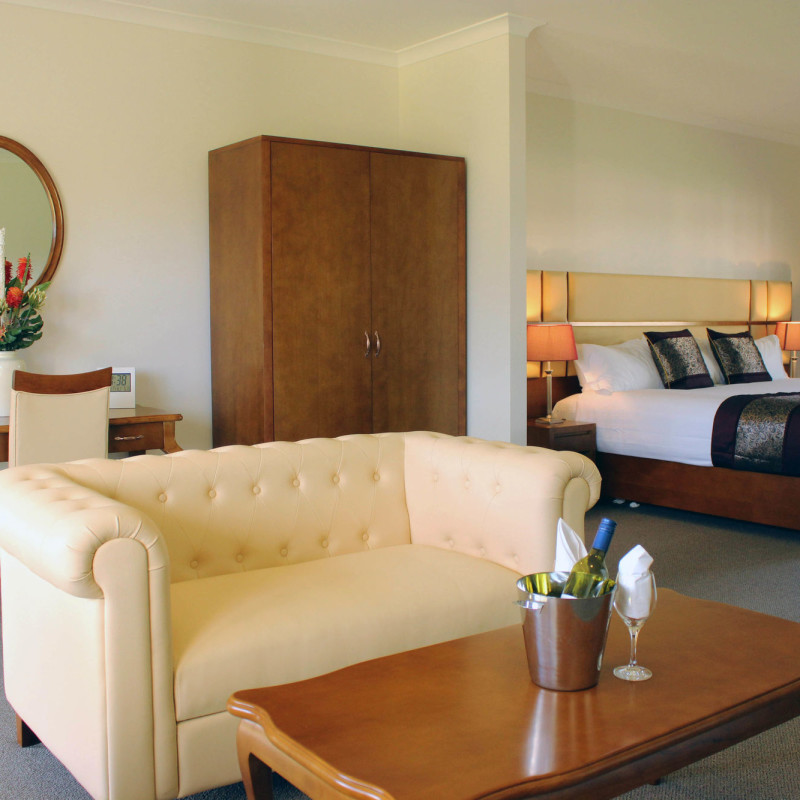 foothills conference centre accommodation deluxe room